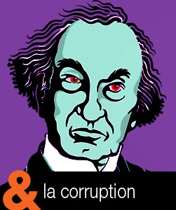 John A Macdonald  icone corruption